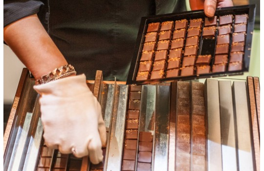 The Marais quarter and its chocolate maker