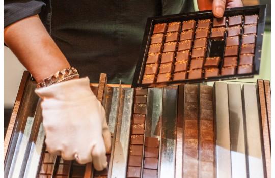 The Marais quarter and its chocolate maker