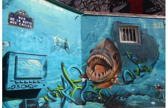 Visite privée : La Butte aux Cailles, entre campagne et Street Art