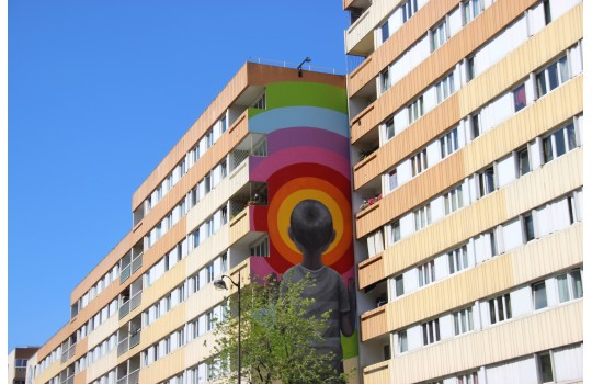 Visite privée : Paris du Street Art, les grandes fresques du 13eme arrondissement
