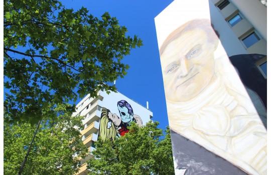 Promenade Street Art dans le 13eme arrondissement