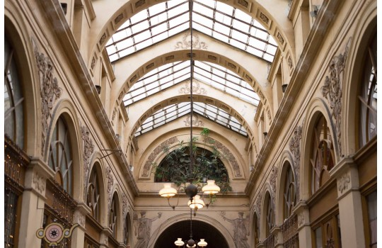 Paris' wonderful covered passages